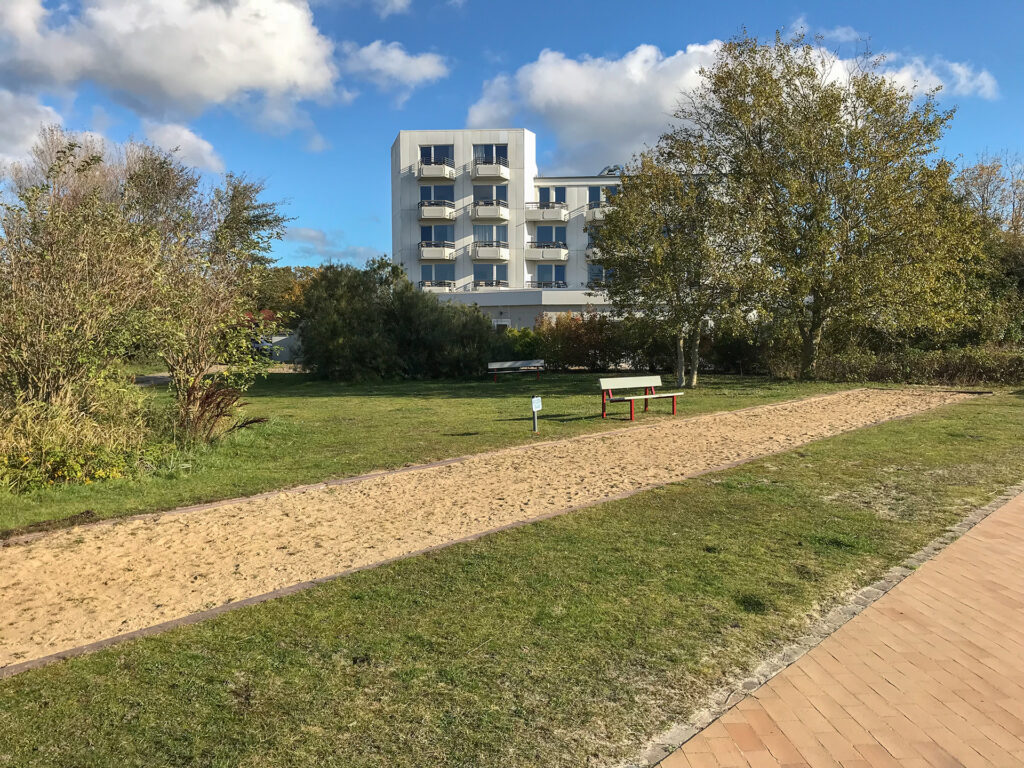 Fehmarn Südstrand, Bouleplatz, Herbst 2019